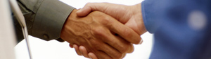 Conciliation Service - Shaking hands image